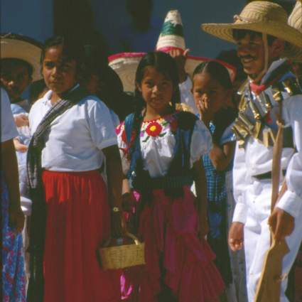 Kids of Ixcateopan de Cuauhtémoc