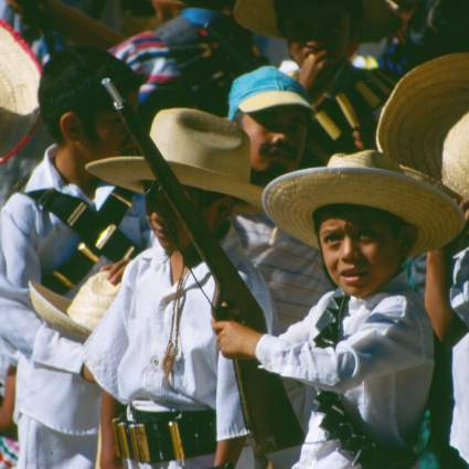 The boys of Ixcateopan de Cuauhtémoc