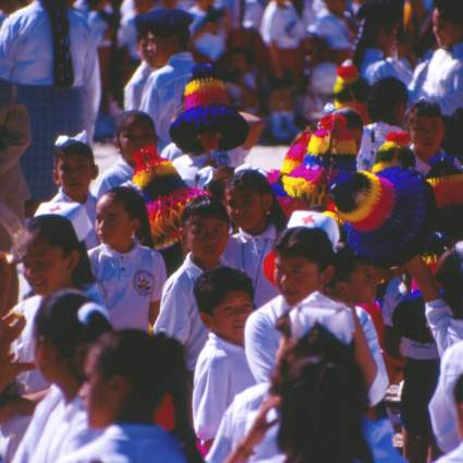 The girls of Ixcateopan de Cuauhtémoc