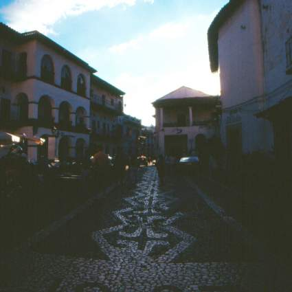 Cobble stone streets of Taxco