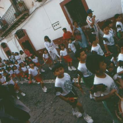 Parade in Taxco