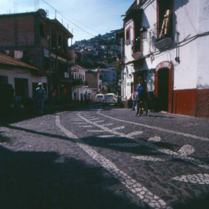 Cobble Street in Taxco II