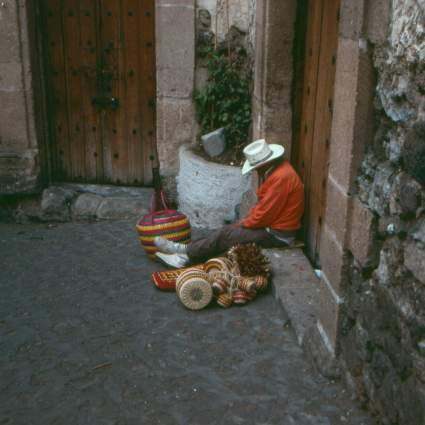 Sleeping on the job in Taxco