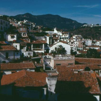 Elevated view of Taxco