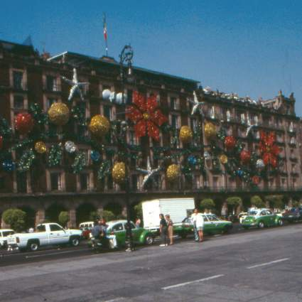 Mexico City Zócalo in November