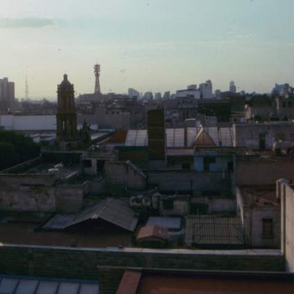 Our view from Hotel Isabel. We stayed here for about 5 days during our Mexico City adventure.