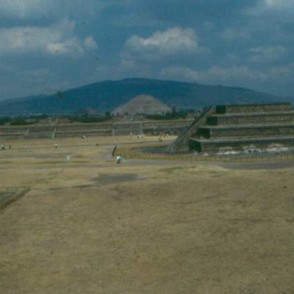 A step back view of Teotihuacan