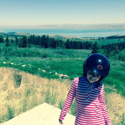 Mila above Bear Lake