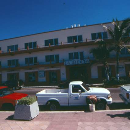Mazatlan Hotel accross from water