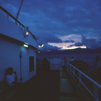 Ferry to Mazatlan in the Evening II