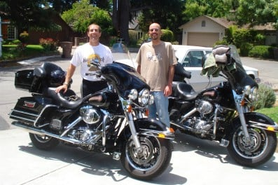 A motorcycle ride from Bay Area to San Diego