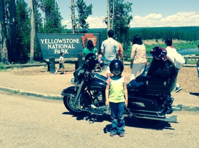 A motorcycle ride from Salt Lake City to Yellowstone National Park